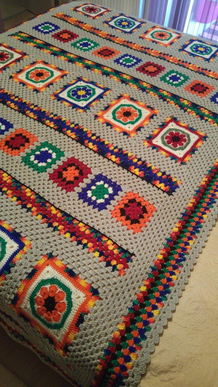 Crochet#motif#battaniye | coletes/vintage | Pinterest | Kreis häkeln ...