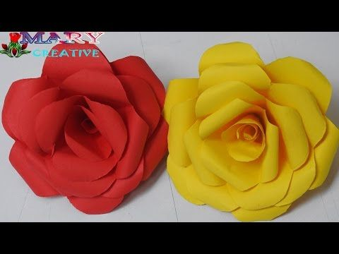 Mary Creative : Mary Creative – Origami #7 |How to make rose tutor...