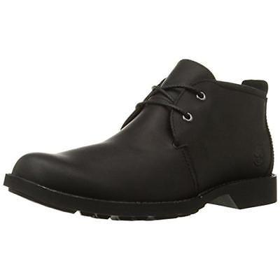 Timberland 7632 Mens City Black Leather Chukka Boots Shoes 10.5 Medium (D) BHFO https://t.co/GT08pgC4LU https://t.co/1WGWCy3kzp