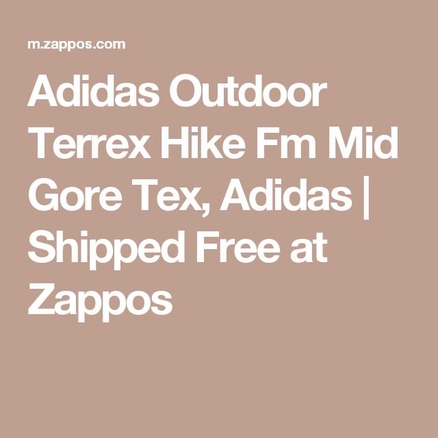 Adidas Outdoor Terrex Hike Fm Mid Gore Tex, Adidas   Shipped