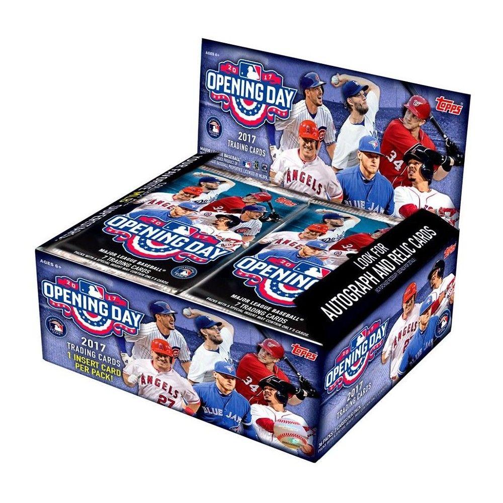 MLB 2017 Topps Baseball Cards 2017 Opening Day Trading