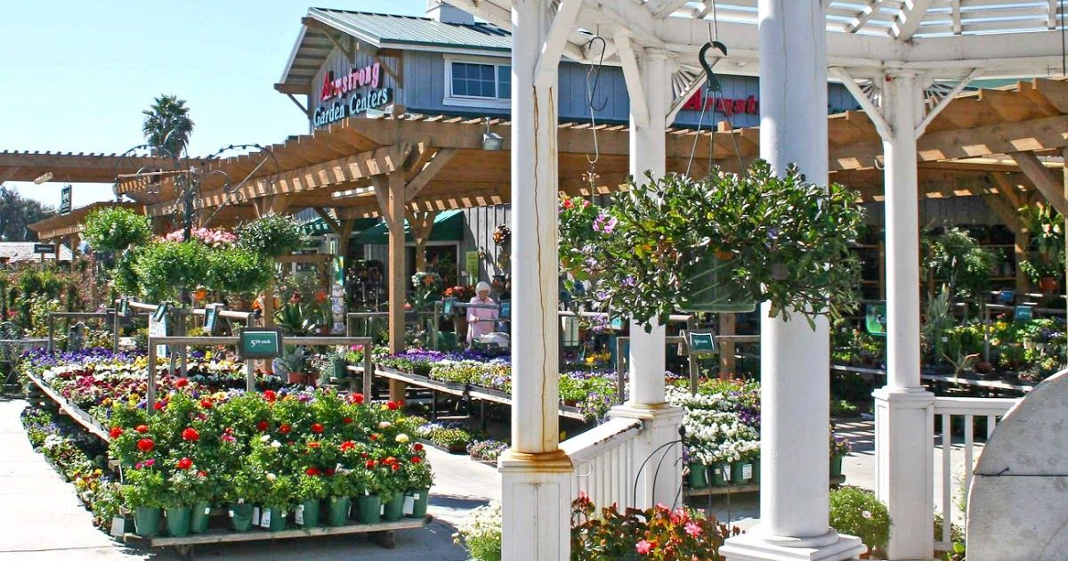 Armstrong Garden Center In Tustin With Images Garden Center