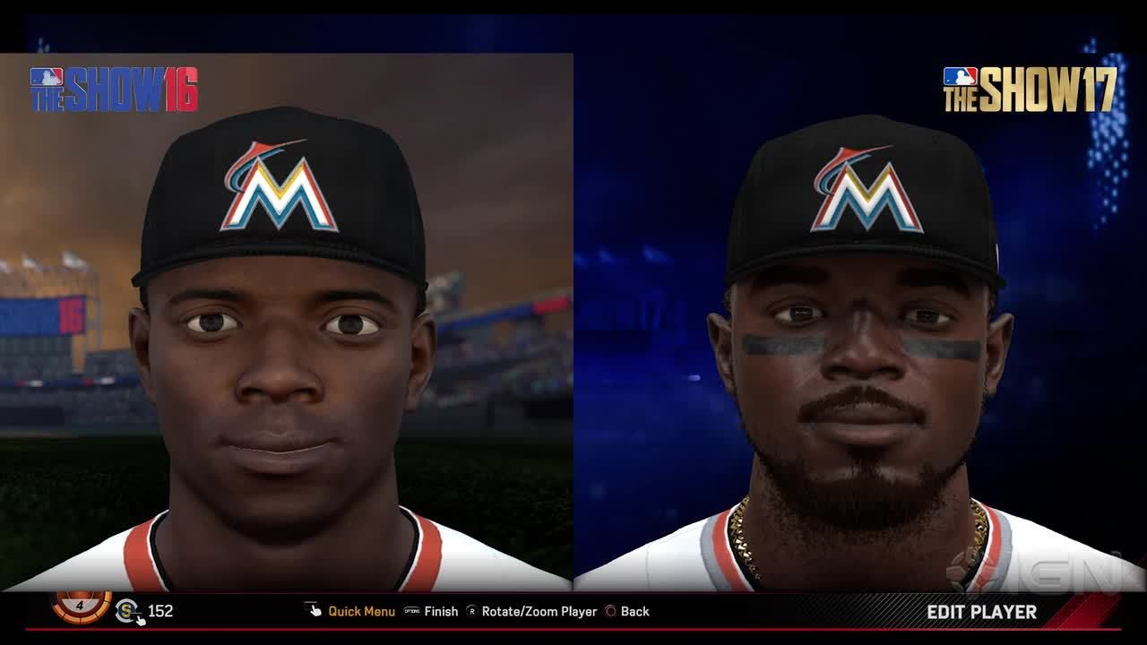 Mlb The Show 17 Gameplay Commentary New Player Faces Mlb The Show 17 Designer Ramone Russell Stops By To Show Off The Upgrades Made T Mlb The Show Mlb Players
