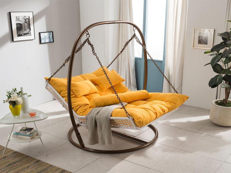 Single Double Increase Rattan Hammock Swing Chair Swingchair