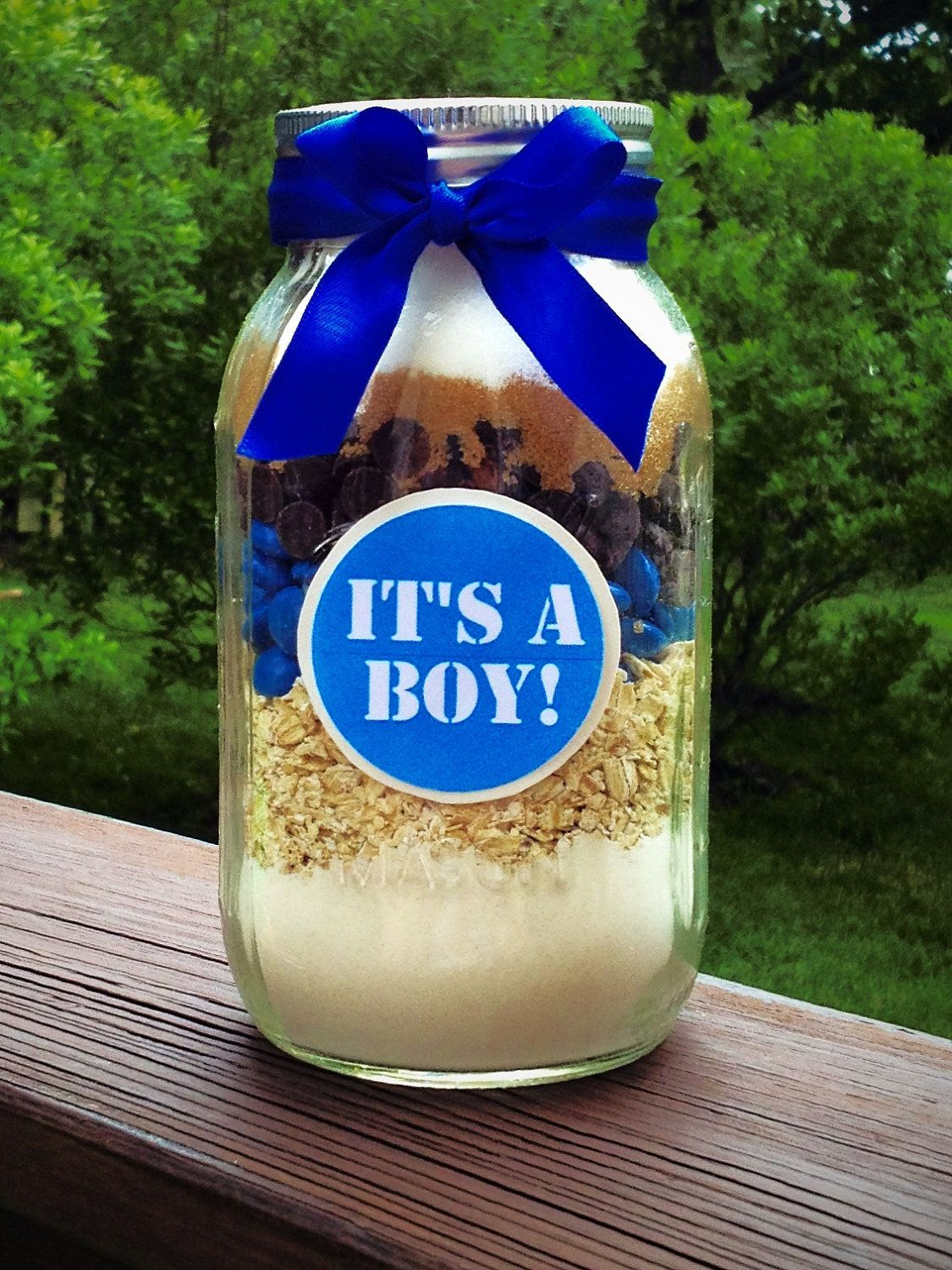 Baby Shower Cowboy Cookie Favor Filled With Cowboy Cookie Mix