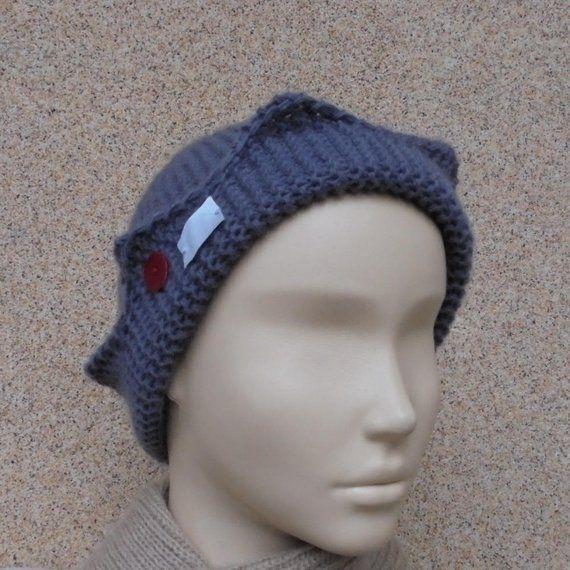 6c33faaa3a6 Jughead Jones beanie Riverdale clothing Gray knitted hat from merino wool  Handmade