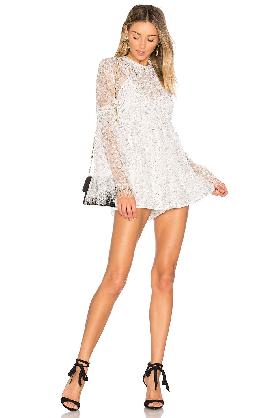 bcfa38cfb78 Alice McCall Hands To Myself Playsuit in White. Revolve. White ...