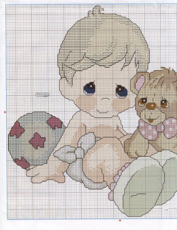 Gallery.ru / Фото #55 - Las Labores de Ana Baby 29 - anfisa1