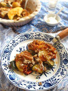 Török zöldséges rakott krumpli