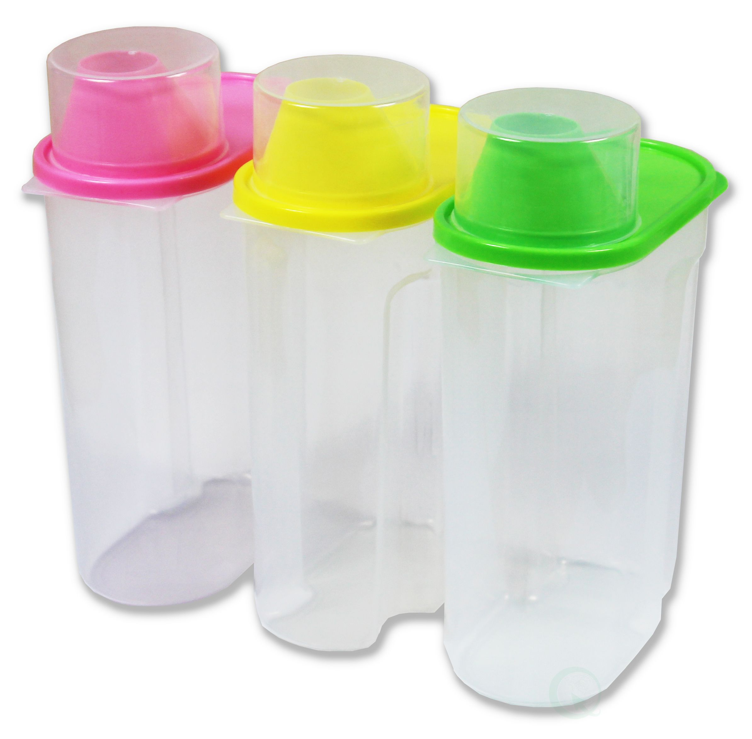 BPA Free Plastic Food Saver Kitchen Food Cereal Storage Containers