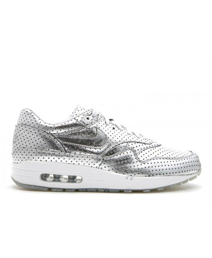 the latest 522b7 4cd77 Air Max 1 Premium Silver Foil Opening Ceremony Metallic Silver, Mtllc  Slvr-Wht 318361-001