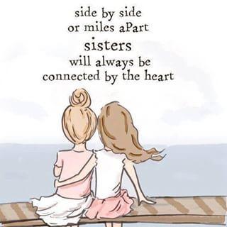 lado a lado o millas aparte siempre estará conectado por el corazón