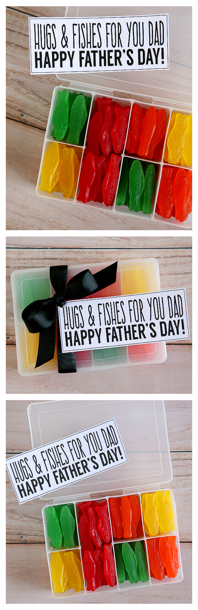 Hugs and Fishes For Dad – Fathers Day Gift