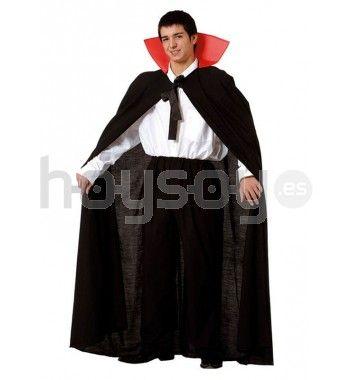 Auténtica capa con cuello para complementar tu #disfraz y disfrutar - imagenes de disfraces de halloween