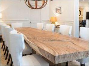 Reclaimed Lumber- Reclaimed Barns and Beams LLC #farmhousediningroom