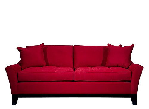 hm richards cardinal microfiber Rory Microfiber Sleeper Sofa New