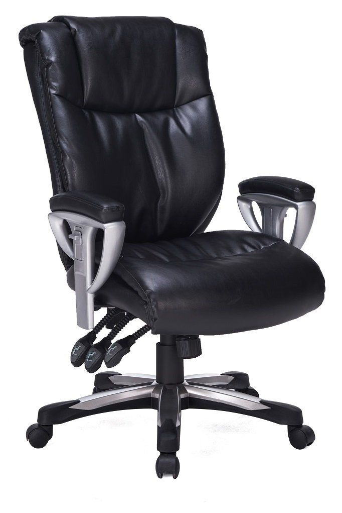 viva office high back bonded leather executive chair with adjustable