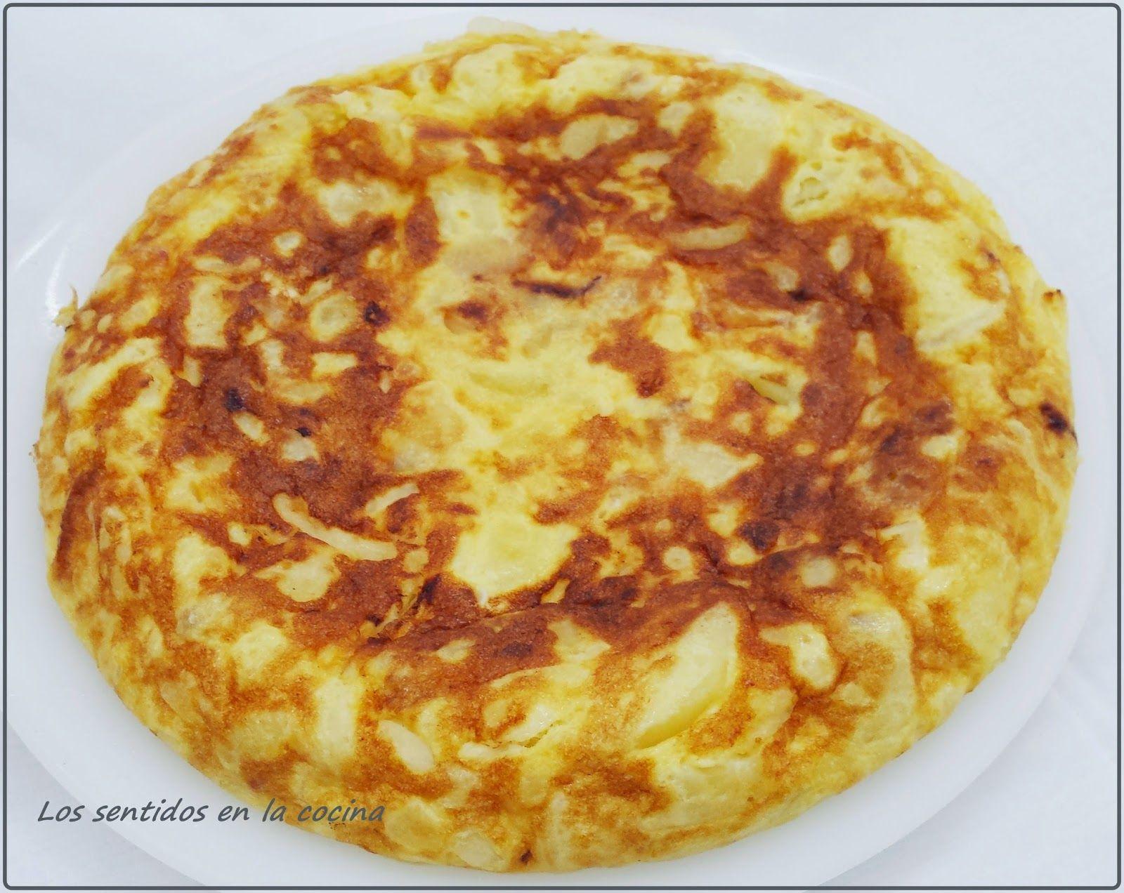 Tortilla De Patatas Y Cebolla Con Poco Aceite En Olla Gm F Tortilla De Patatas Recetas Para Cocinar Tortilla De Patatas Rellena