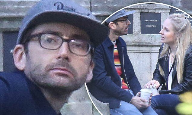David Tennant enjoys a date at the park with wife Georgia