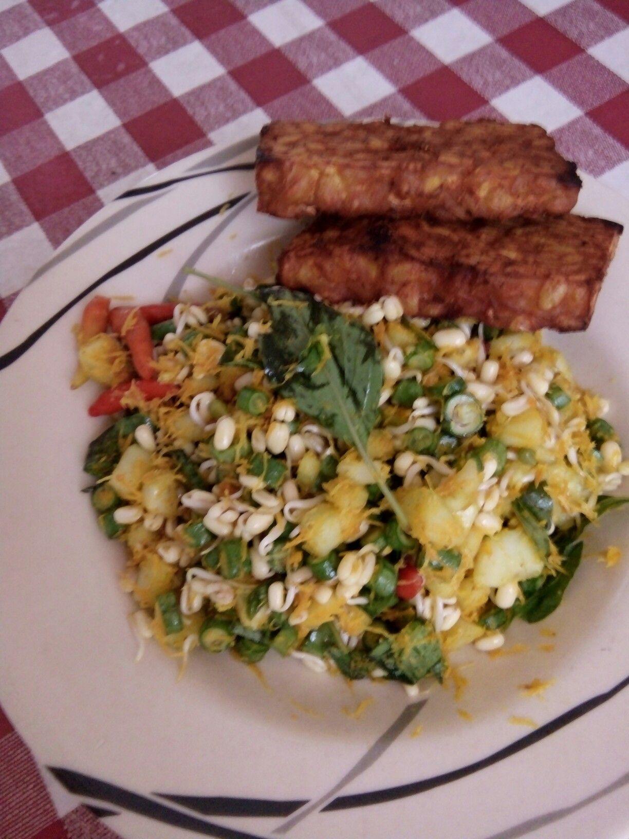Terancam Urap Urap Sayur Mentah Khas Jawa Timur Sayuran Aneka Kue Kue