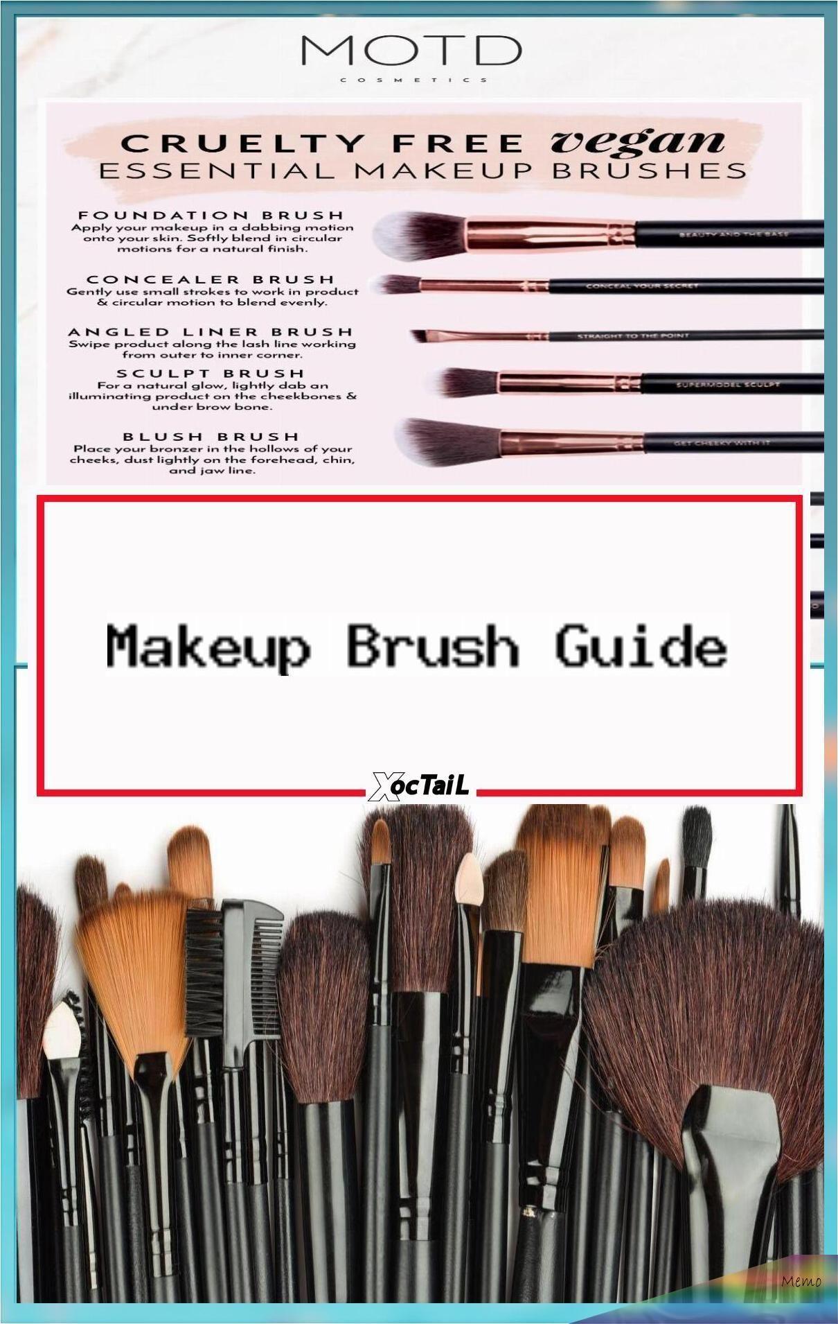 Jan 24, 2020 Makeup Brush Guide for Beginners Essential