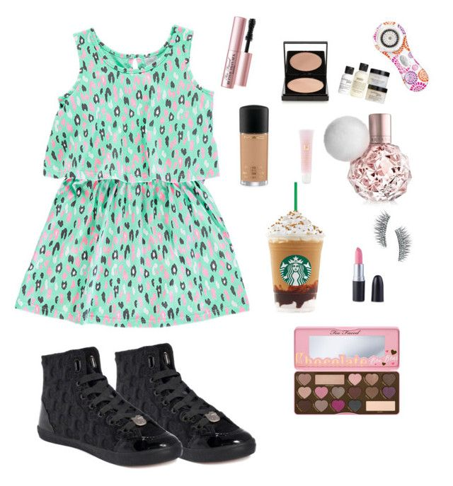 """""""What I take to the photo shoot"""" by jj-reese ❤ liked on Polyvore featuring Hello Kitty, Le Métier de Beauté, Lancôme, Kre-at Beauty, Too Faced Cosmetics, Clarisonic and philosophy"""