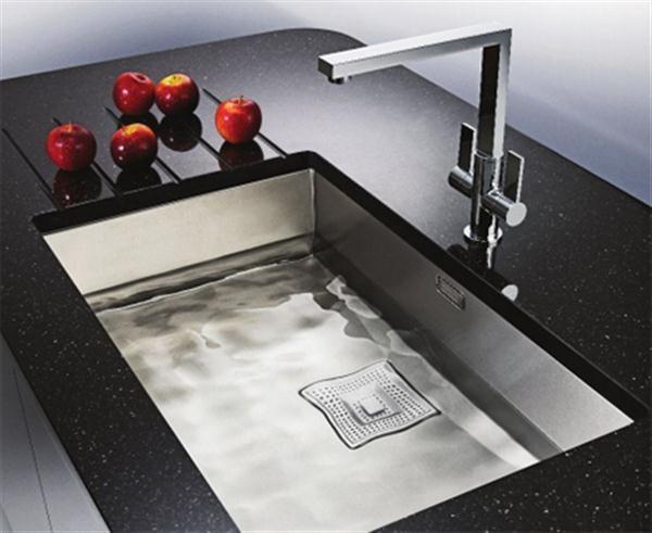 Franke Kitchen Sinks Tiles Peak Sink Featured 16 Gauge Stainless