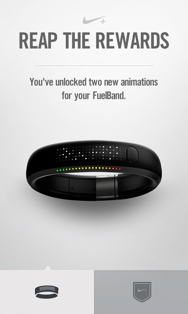 ❤ My NIKE+ FUEL Band!!