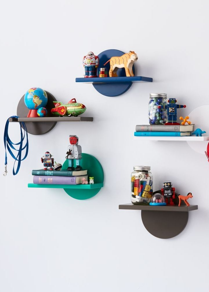 The novel design of our Orbit Wall Shelf allows you to customize it however you want