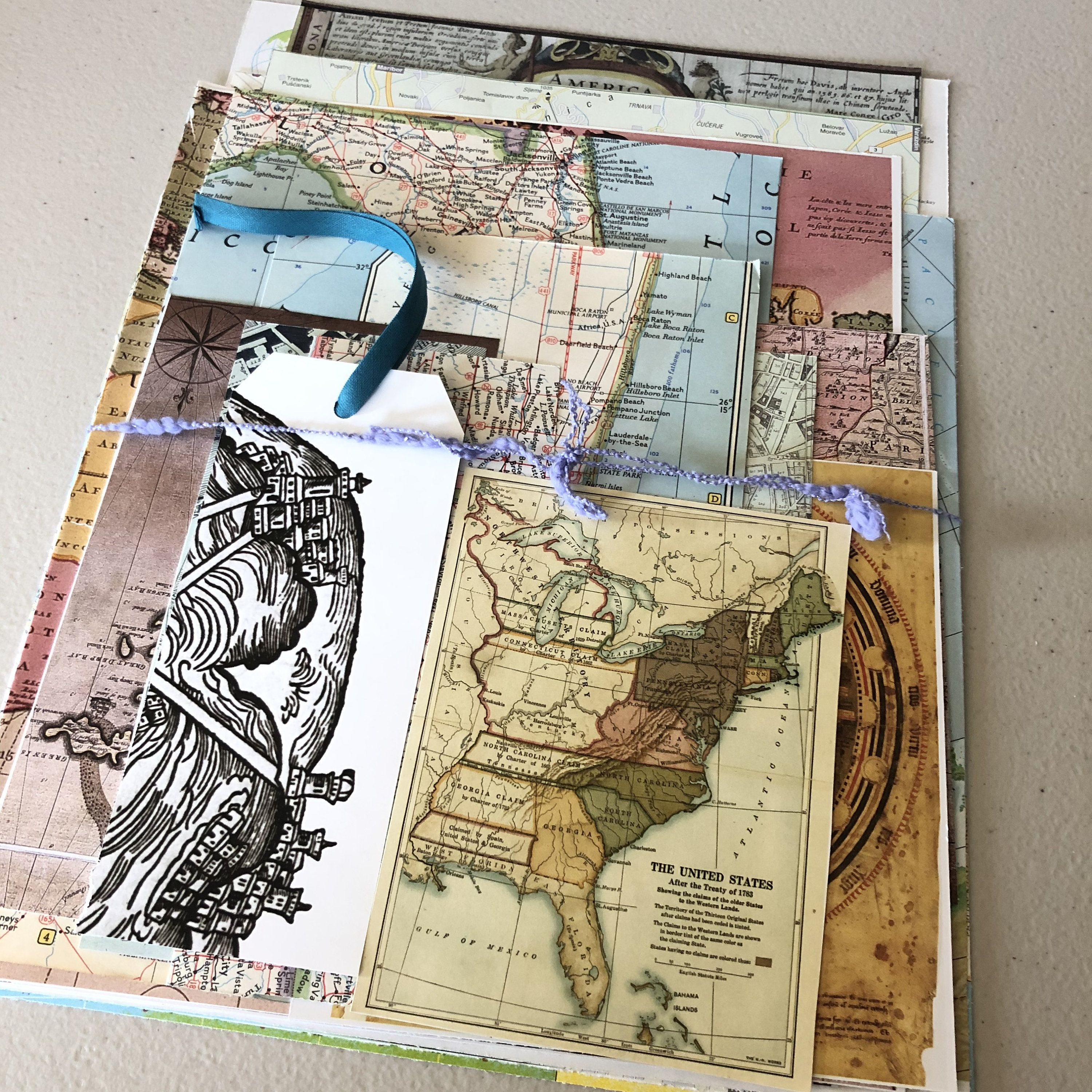 Map Paper Pack 20pc Ephemera Pack Craft Paper Pack Journal Etsy In 2020 Map Paper Scrapbook Paper Vintage Map