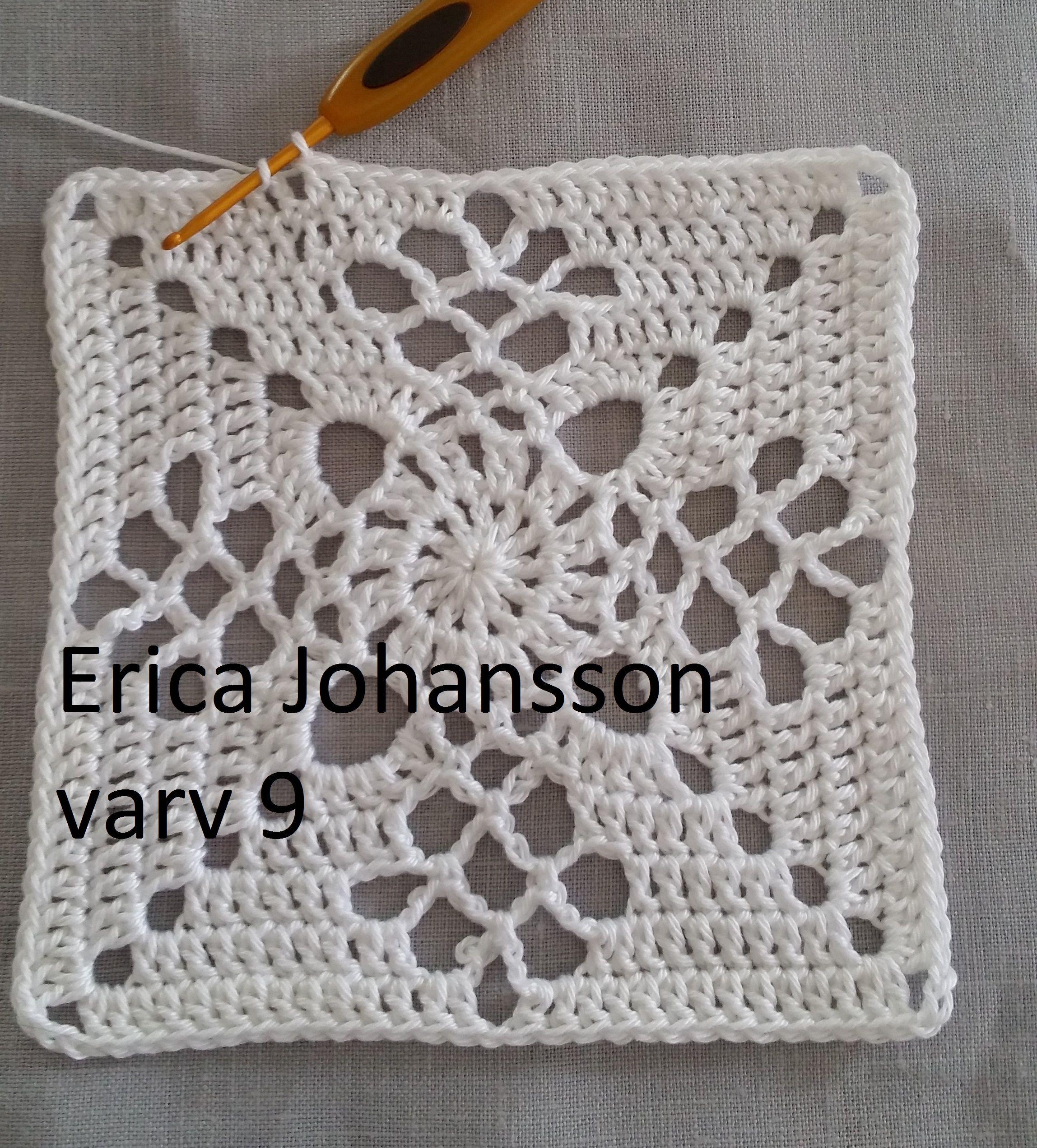 Victorian lattice square – SVENSKA   Garn