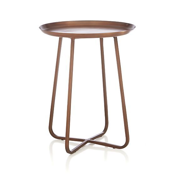 Penelope Accent Table in Coffee Tables Side Tables Crate and