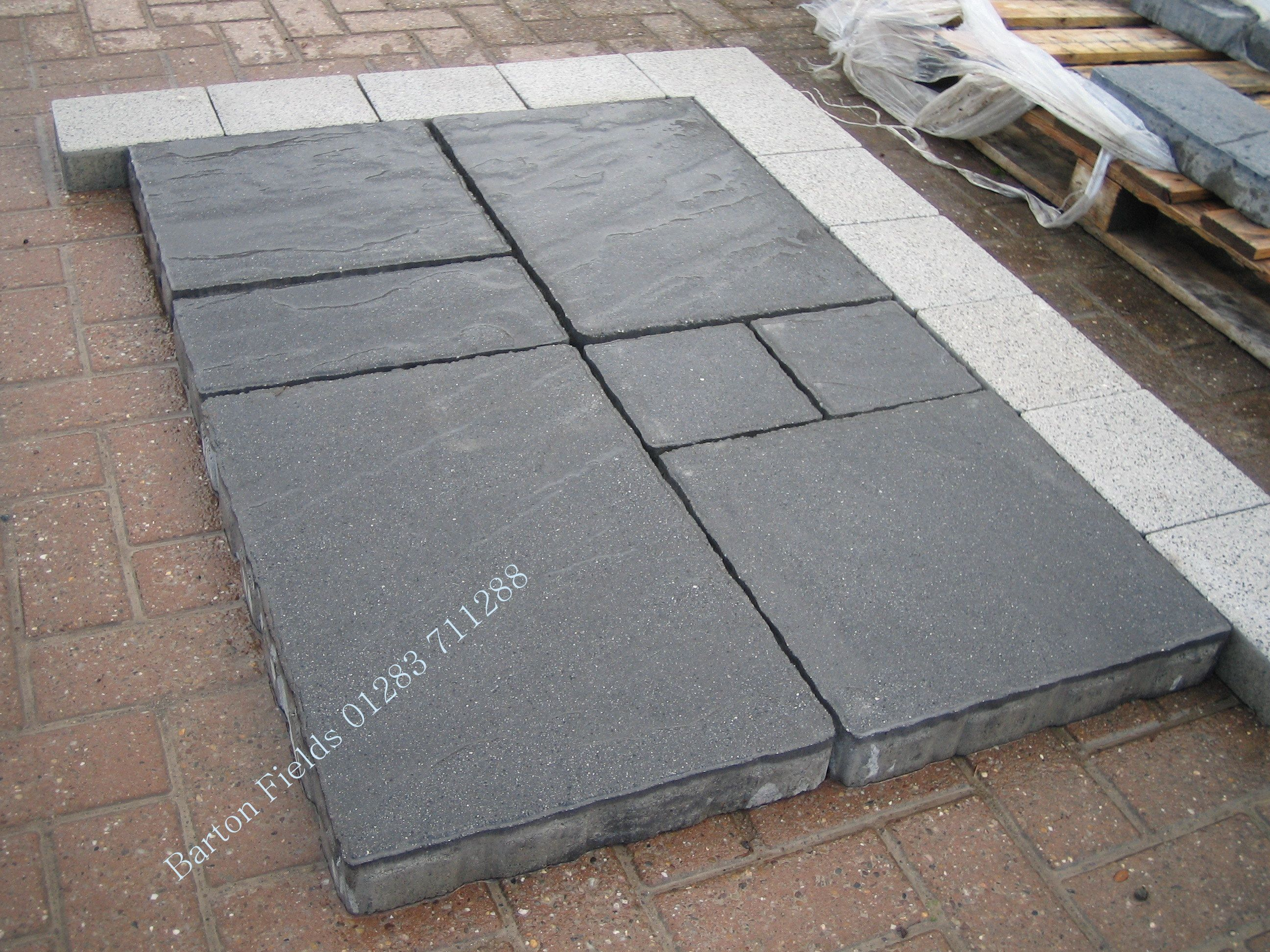 The Perfect Slab Flag For Constructing A Drive At 60mm Depth They Can Be Laid Like