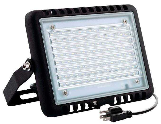 Wosen 100W LED Flood Light, Waterproof IP65, 10000lm ...