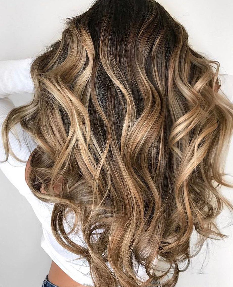 Wedding Hair Color Ideas: 44 Balayage Hair Color Ideas With Blonde