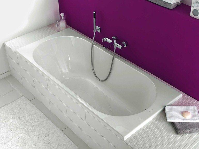 baignoire encastrable rectangulaire en acrylique o novo baignoire encastrable villeroy. Black Bedroom Furniture Sets. Home Design Ideas