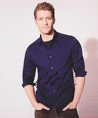 Matthew Morrison Autographed Signed 8X10 Photo COA 'Glee'