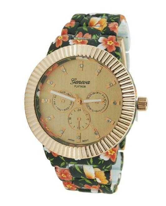Bloemenprint Horloge Binnenkort verkrijgbaar.  Bestellen kan alvast via info@happyaccessory.nl www.happyaccessory.nl