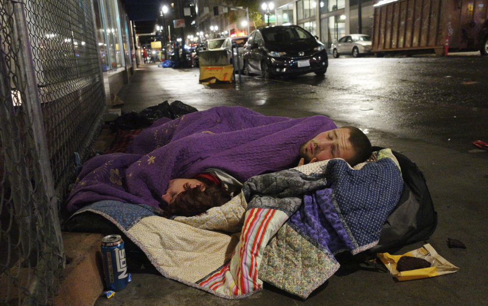 Homeless Man Finds 10k Blank Check On Street Homeless Us West Coast Homeless People