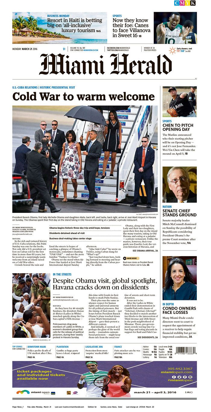 Today's Front Pages | Newseum | Newspaper front pages ...