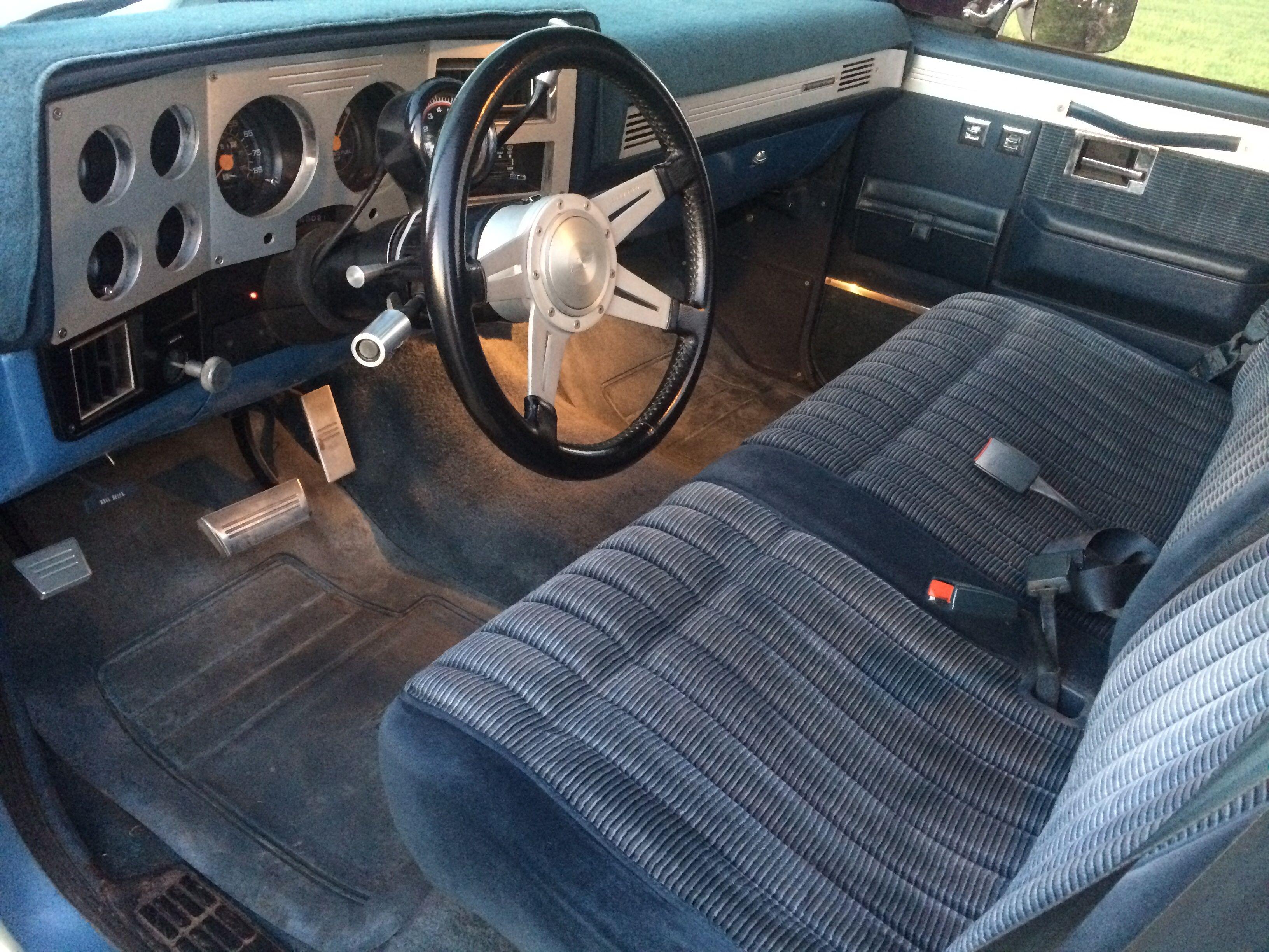 My Old 39 83 Silverado Interior Pic 2 Of 2 Note The Billet Trim 1993 Gmc Sierra Classic Bench