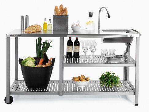 Outdoor Küche Mit Spüle : Die outdoorküche u genussvoll draußen kochen outdoor möbel