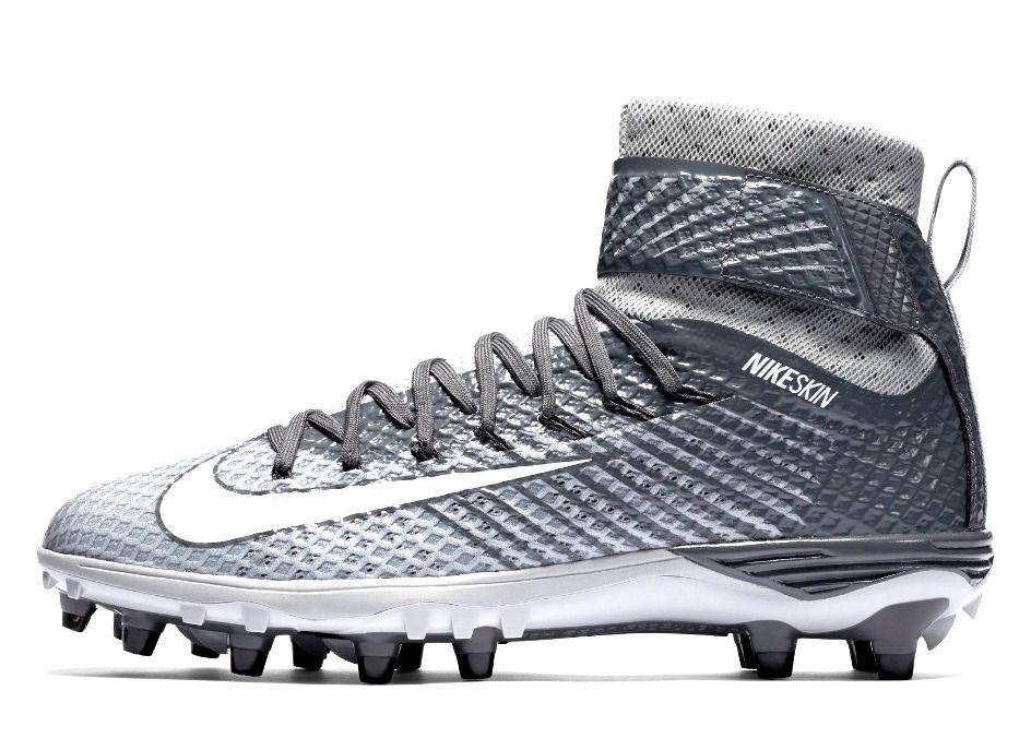 NEW Nike Force Lunar Beast Elite TD 779422 Skin Football Shoes Cleats Gray