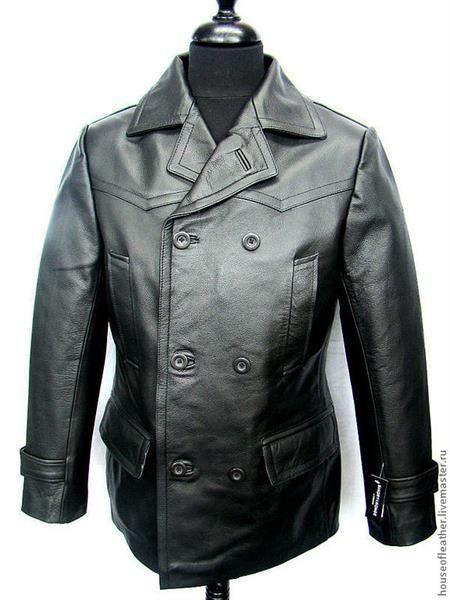 Куртка кожаная двубортная мужская   Кожаная куртка   Dresses 57887688d22