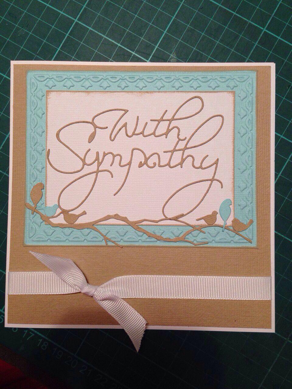 sympathy card  cards handmade handmade card making