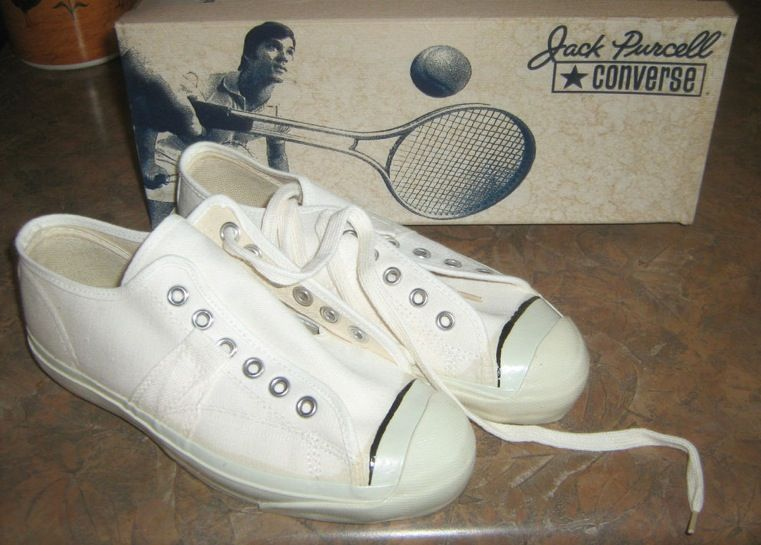 994e5e2bd03a9a LOVE me some Vintage Converse Jack Purcells. Made in the USA before Nike  bought Converse