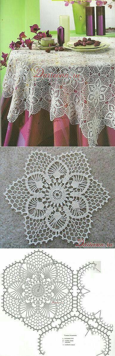 Маленькие мотивы крючком   Мил     pineapple crochet   Pinterest ...