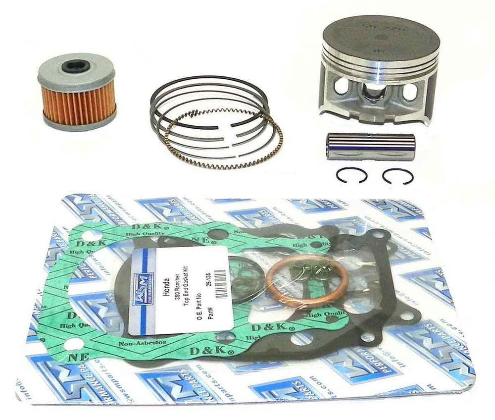 Honda 1998-2004 TRX Ring Set Std 13010-HN0-A01 New OEM