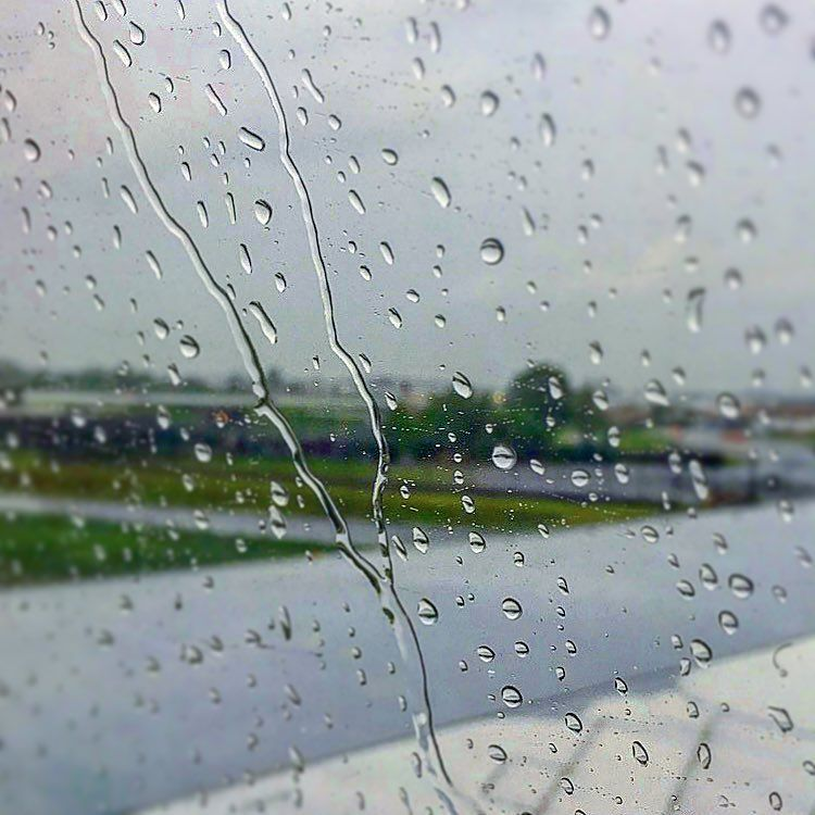 The Rain Is Falling On My Window Pane But We Are Hiding In A Safer Place That Safer Place Is A Plane After Lightning Stuck It Window Pane Places Instagram