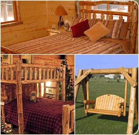 Log Cabin Furniture And Rustic Cabin Furnishings Located In Milaca,  Minnesota. Online Store,